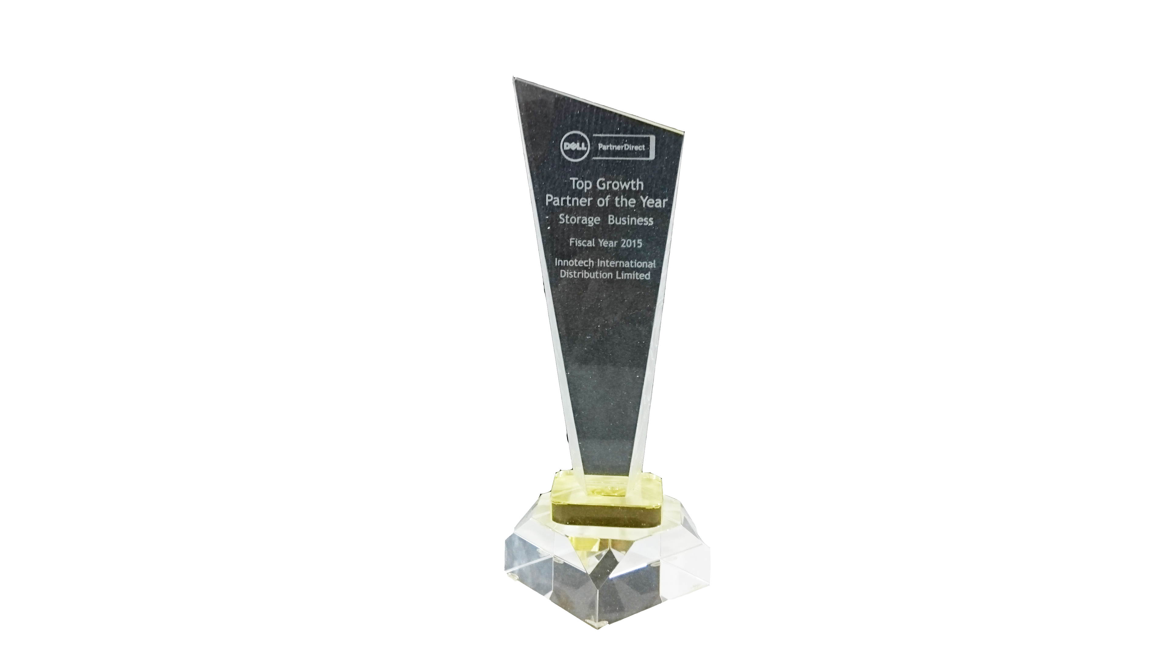 Top Growth Partner of the Year (Storage Business) 2015