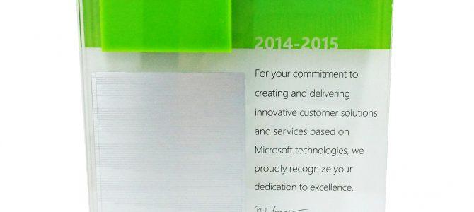 Microsoft Partner Network 2014-15